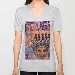 Lady Macbeth Unisex V-Neck