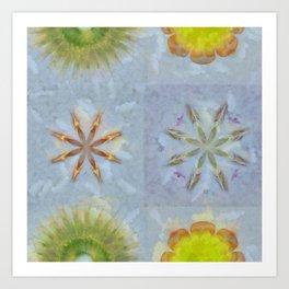 Confusingly Trance Flower  ID:16165-092126-35290 Art Print