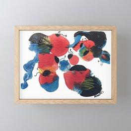 Lady Framed Mini Art Print