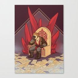 Companion Fears - Became His Parents Canvas Print
