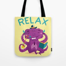 :::Relax Monster::: Tote Bag