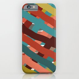 Watercolor Ribbons  iPhone Case