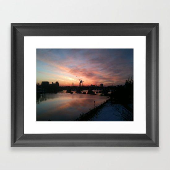 Minneapolis Framed Art Print