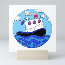 Rub N Tugboat- BI Mini Art Print