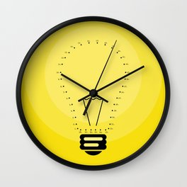 Join your Ideas Wall Clock