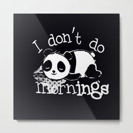 Panda #1 Metal Print
