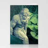 bigfoot Stationery Cards featuring Bigfoot Sighted by Lyle Hatch