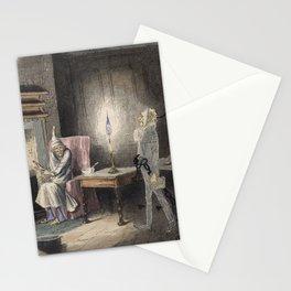 Christmas Carol - Marley's Ghost Stationery Cards
