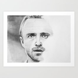 Aaron Paul Art Print