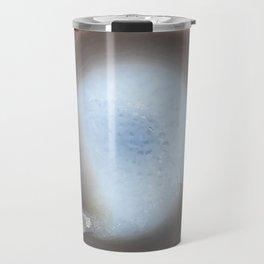 Natural Earth Tone Agate Slice Travel Mug