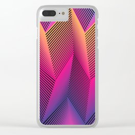 Sooo sharp Clear iPhone Case