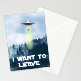 I want to leave Stationery Cards