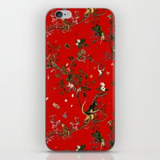Monkey World Red iPhone & iPod Skin