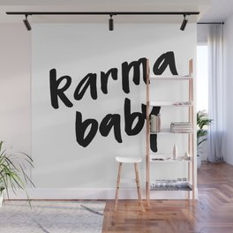 karma baby Wall Mural