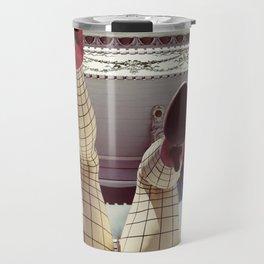 Pin up girl Travel Mug