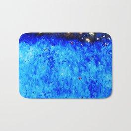 Royal Blue Ceramic Glaze Bath Mat