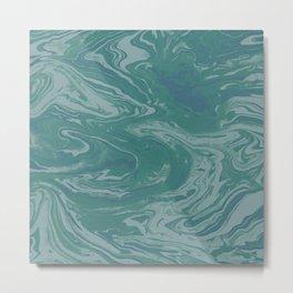 Green Terrain Metal Print