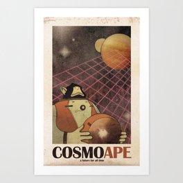 CosmoApe Art Print