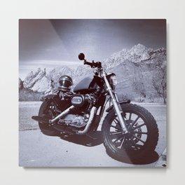free rider Metal Print
