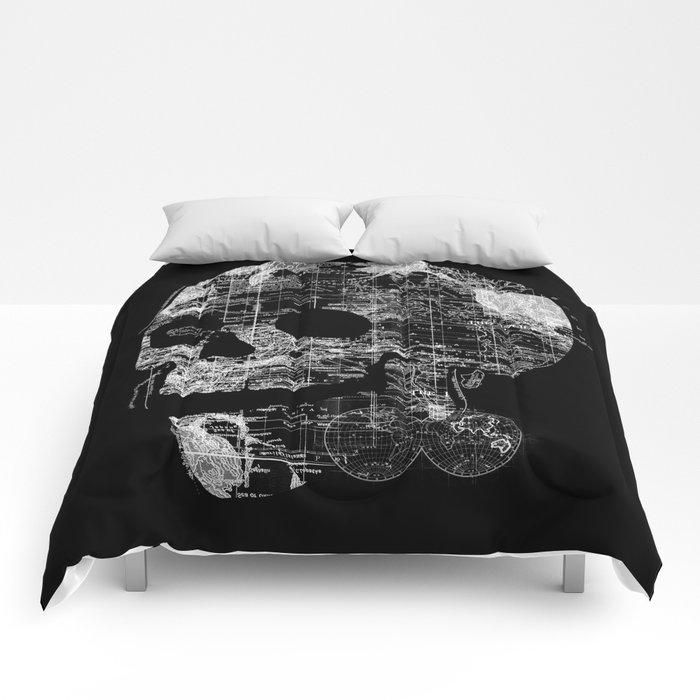 Skull Wanderlust Comforters