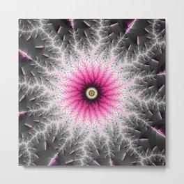 Fractal Bloom Metal Print