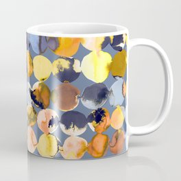 yellow ink dots Coffee Mug
