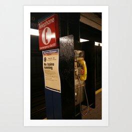 New York Phonebooth 4 Art Print