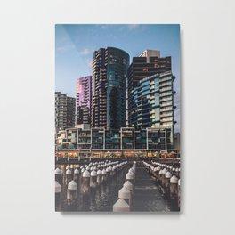 Docklands Melbourne Metal Print