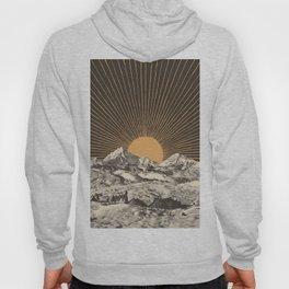 Mountainscape 6 - Night Sun Hoody