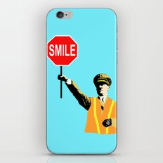 smile! iPhone Skin