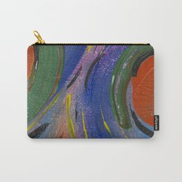 Colorful Bright Abstract Fruity Art Work Carry-All Pouch