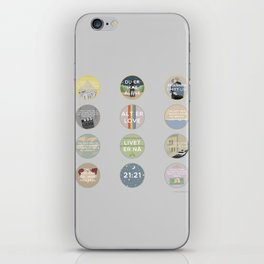 EVAK: A MINIMALIST LOVE STORY VOL. II iPhone Skin