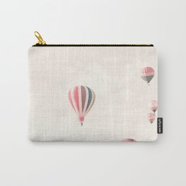 Hot Air Balloons, White Carry-All Pouch