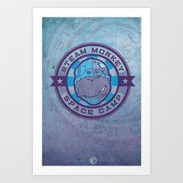 SPACE CAMP Art Print