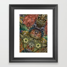 Psychedelic Botanical 1 Framed Art Print