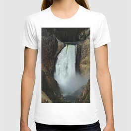 Yellowstone River Falls T-shirt