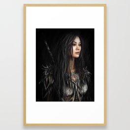 Armored Heart Framed Art Print