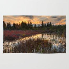Autumn Dolly Sods Sunset Rug