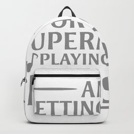 Am I Getting Older, Or Is The Supermarket Playing Great Music Backpack