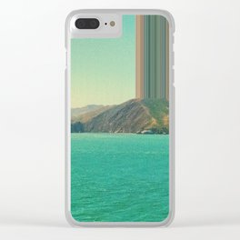 Ship coming into San Francisco Bay Clear iPhone Case