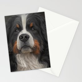 Bernese Mountain Dog Stationery Cards