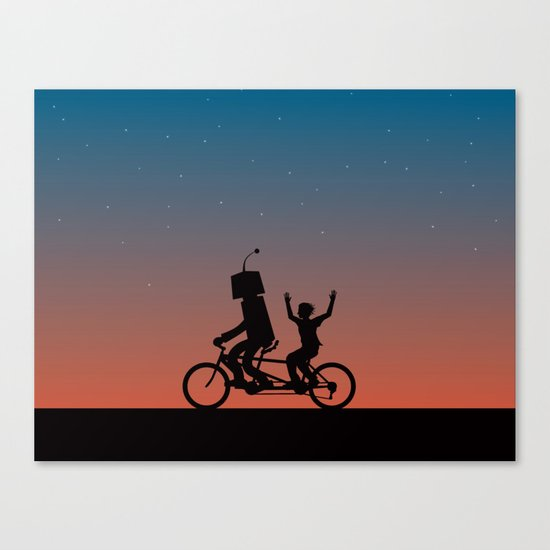 Before They Were Our Enemies, They Were Our Best Friends Canvas Print