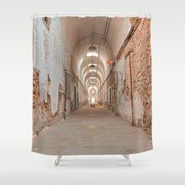 Prison Corridor Shower Curtain