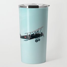 Historic World War II Russian Aircraft  Travel Mug