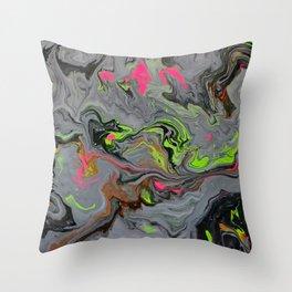 Toxic 3 Throw Pillow