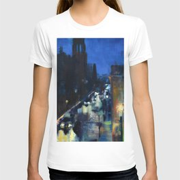 Rainy Morning at the Rockville Centre Cathedral T-shirt
