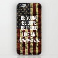american iPhone & iPod Skins featuring American by Karolis Butenas