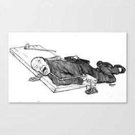 Financier Maitrisé Canvas Print