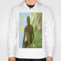 renaissance Hoodies featuring Surfing Renaissance  by David Stone