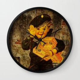 Cracker Jacks Wall Clock